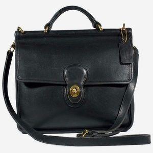 Coach Vintage Originals Willis Bag in Black #9927